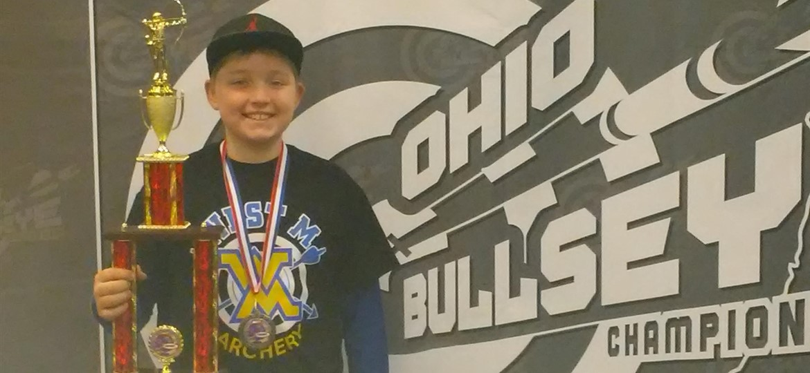 Congratulations to Memphis Todd, 5th grader, for placing 3rd in the State Archery!