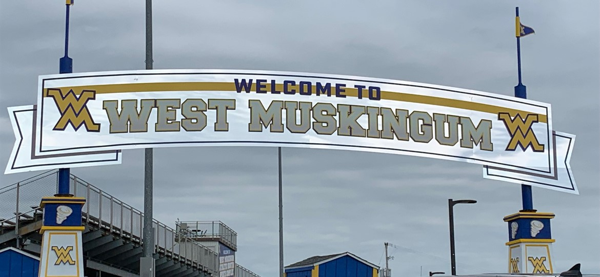 New stadium sign
