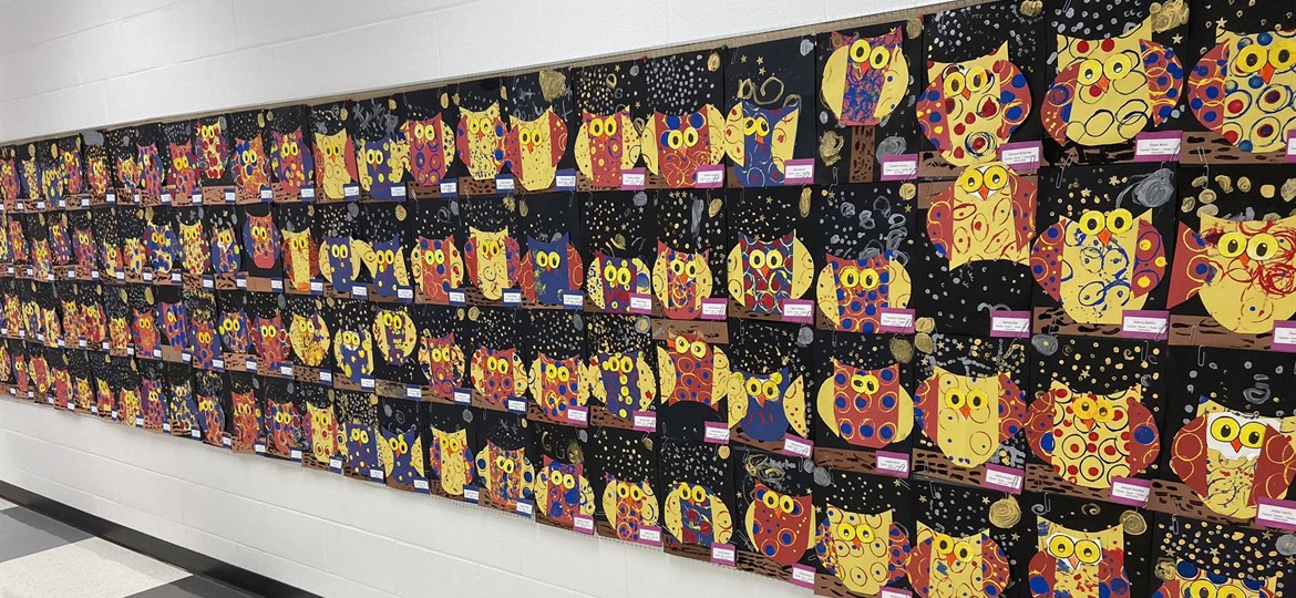 Elementary Art is a Hoot!
