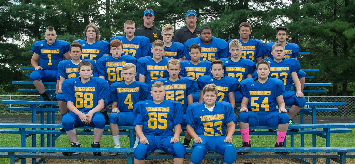 West M Middle School Football Team