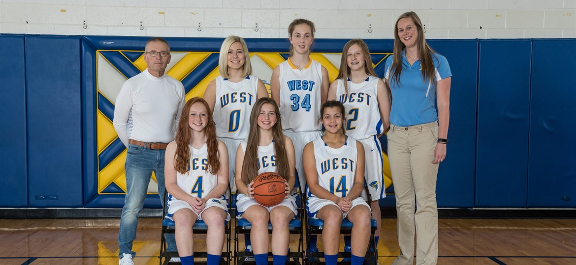 West M Girls JV Basketball