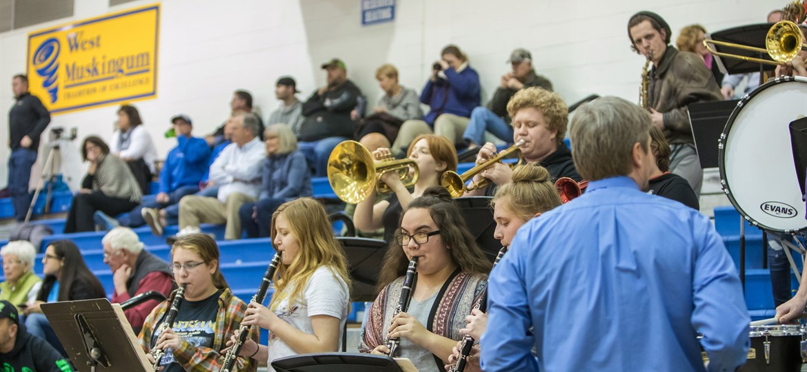 West Muskingum Pep Band