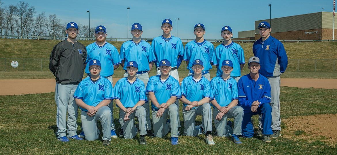 West M JV Baseball Team