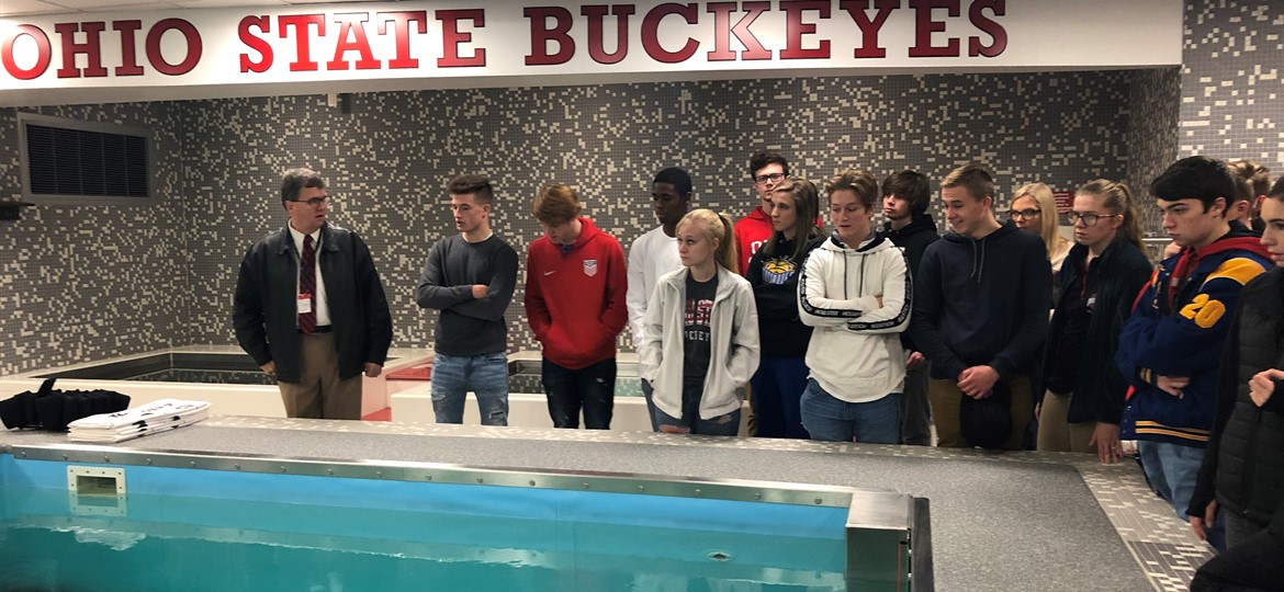 Sports Medicine Program Visits OSU